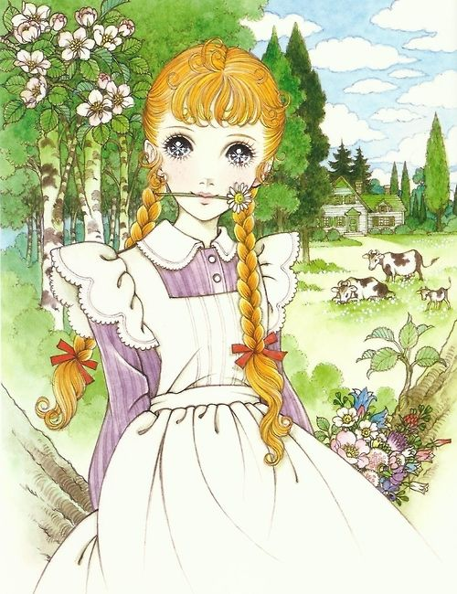 kiki-kawaii: Macoto takahashi - Anne of Green Gables * Google for Pinterest pals1500 free paper dolls at Arielle Gabriels The International Paper Doll Society also Google free paper dolls at The China Adventures of Arielle Gabriel *