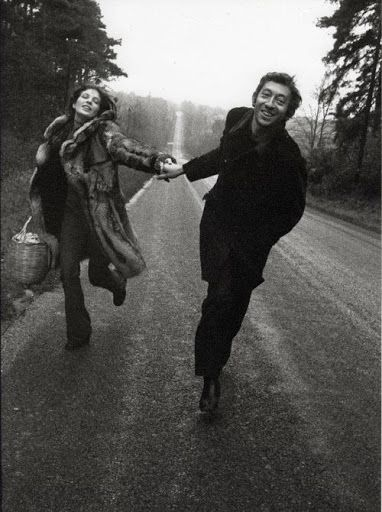 Jane Birkin and Serge Gainsbourg. More