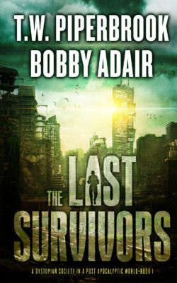 http://bit.ly/2fg3e2t -        The Last Survivors (A Dystopian Society in a Post-Apocalyptic World) by Bobby Adair & T.W. Piperbrook   Over 1,000 5-star reviews across the series! Survival in Man's Second Dark Age Three hundred years after the fall of society, the last fragments of civilization are clinging to life, living in the ruins of the ancient cities in nearly-medieval conditions. Technology has been reduced to legend, monsters roam the forests, and fear reigns s