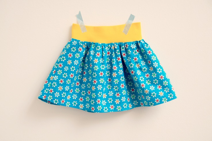 DIY - sew - easy skirt, no pattern needed