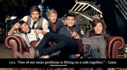Haha the problems of one direction