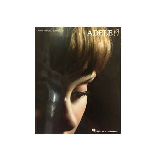 Adele 19 PVG. 12 songs from Adele's debut number one album, arranged for Piano, Voice and Guitar. Includes the hit single Chasing Pavements and her first single Hometown Glory.  $29.95