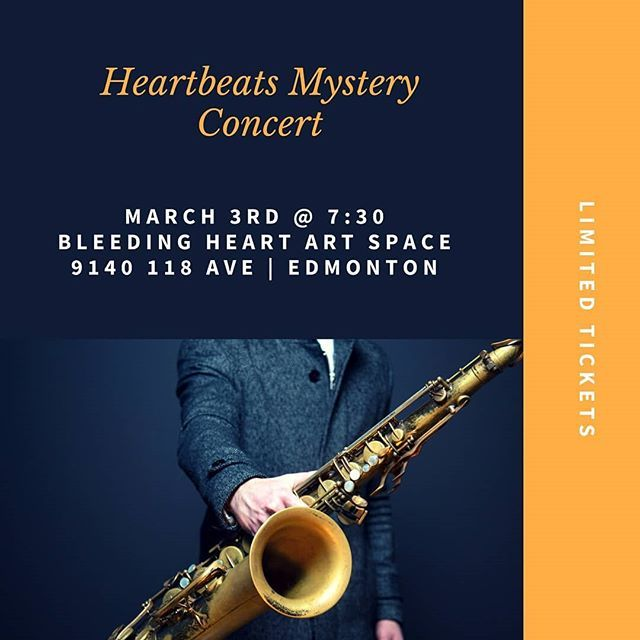Join us for another mystery concert! @obart.ashleymcisaac joins us again with live painting. Tickets are just 20 bucks! We sold out for our concert launch so get 'em before they're gone  Link in bio . . . . . #yegmusic #yegmusicscene #yegconcerts #yegart #yegarts #yegevents #webelievein118 #mystery #yeg #yeggers #edmontonart #edmonton #edmontonmusic #bleedingheart #artspace #yegliving #yeglife #yeglocal #yegfun #albertamusic #sherwoodpark #stalbert #yegdowntown #yegbands #music #concerts…