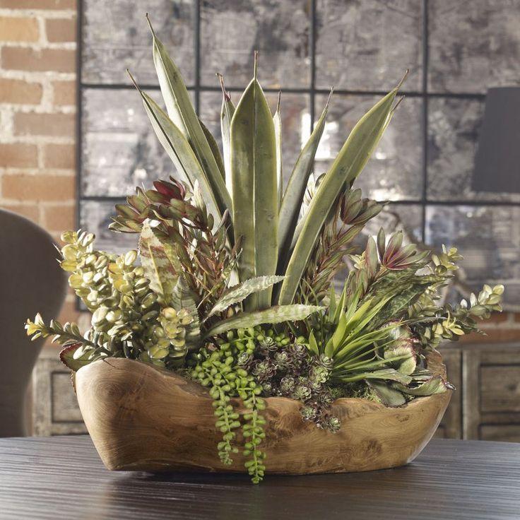 Uttermost Salar Succulents Bowl - 60119