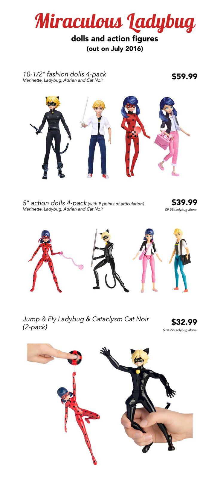 miraculous ladybug fashion dolls and action figures ladyblognet