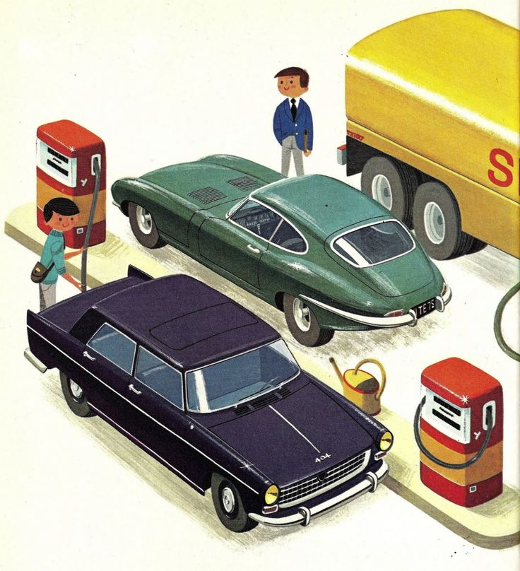 from Le Pétrole by Alain Gree, 1965. And that's a '65 Peugeot 404 in a rather handsome purple!