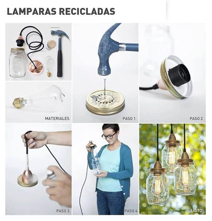 Recycled Lamps.