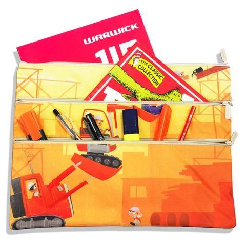 A4 Pencil Case - Construction - School Depot NZ  - 1