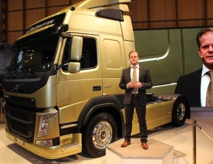 The new FM launch at CV Show in Birmingham