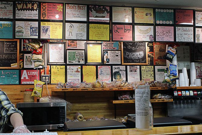 Oxford's own Bagel and Deli make the list of 39 most iconic college town food joints!