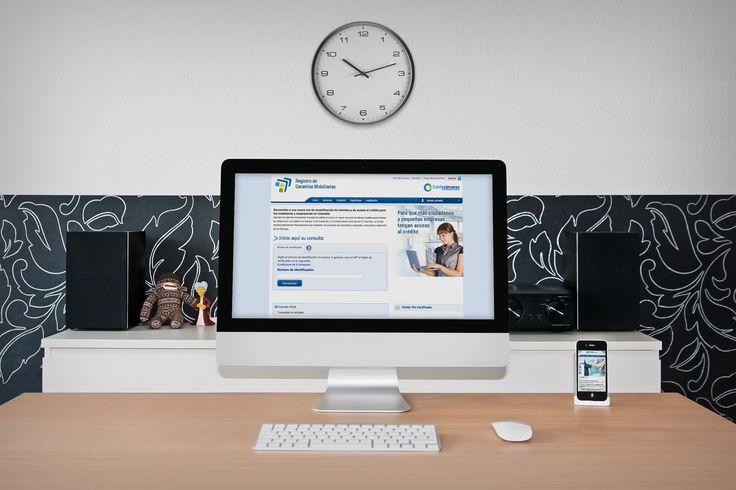 Sitio Web RGM (Registro de Garantías Mobiliarias)