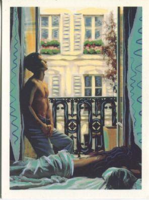 Athena Postcard, A Paris Morning Photo by Ian Sanderson