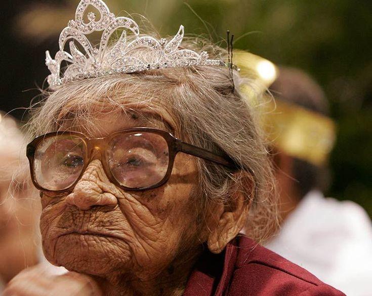 One never outgrows a tiara