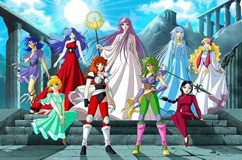 -Saint Seiya- Girls