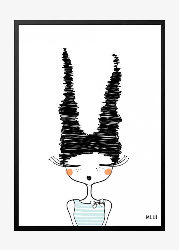 MUUI – Doodle girl