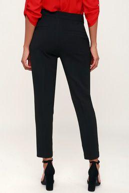 a98ec17ac574 Nicolet Black Trouser Pants