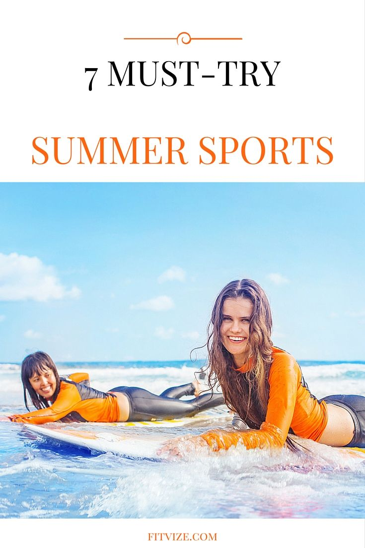 Workout Motivation|Fitness|Lifestyle  Try these 7 sport activities which could turn out to be real adventures you will remember for months after.  As a little bonus – we have also included a complementary exercise recommendation to every section to help you achieve an all-round level of fitness. Find out more at  https://fitvize.com/2016/07/19/7-must-try-summer-sports/