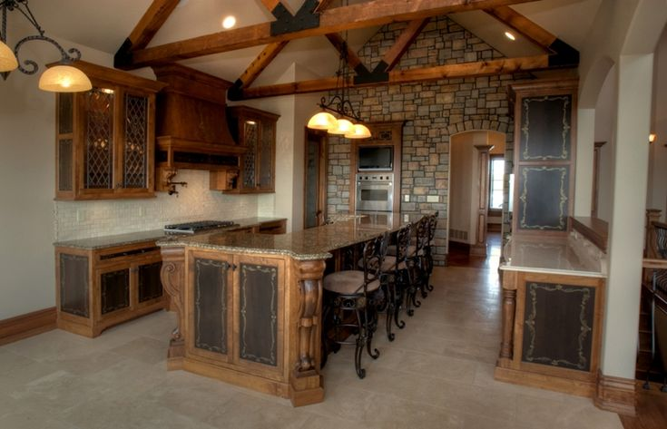 1000 ideas about exposed beam ceilings on pinterest for Vaulted ceiling with exposed beams