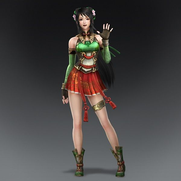 Three New Dynasty Warriors 8 Characters Revealed
