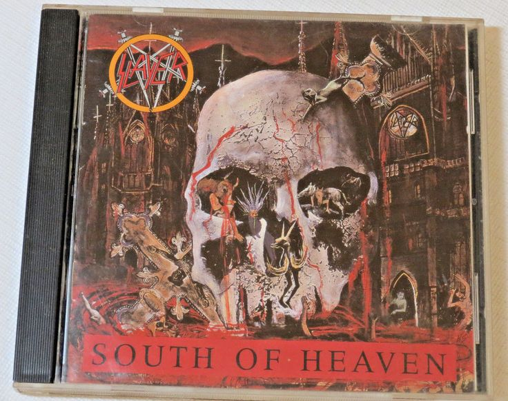 Slayer South of Heaven CD 1988 Def Jam Recordings 9 24203-2 Original Silent Scre