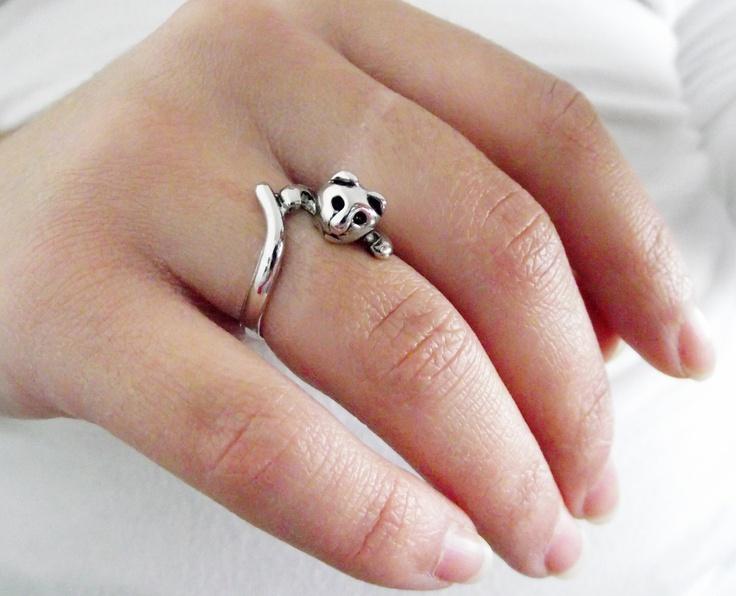 Meow Ring. $21.00, via Etsy.