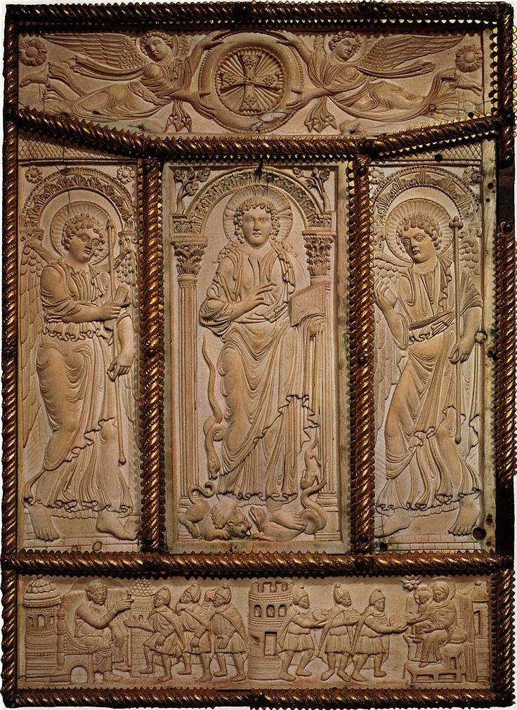 Lorsch Gospels - Carolingian art