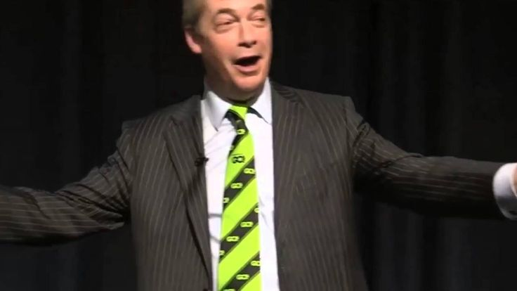 Breaking : Nigel Farage Speaking At 'Grassroots Out' Event In Manchester