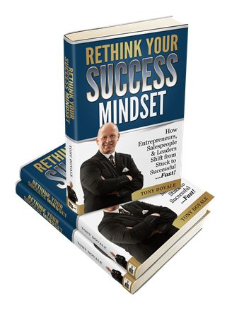 Tony Dovale - Rethink...Your success Mindset - join tony Dovale For a no cost workshop to transform your MINDSET forever. register at www.successactivators.com