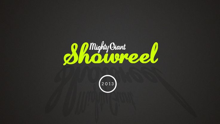 Mighty Giant Showreel 2013. A collection of what we've been working on for the past year or so.