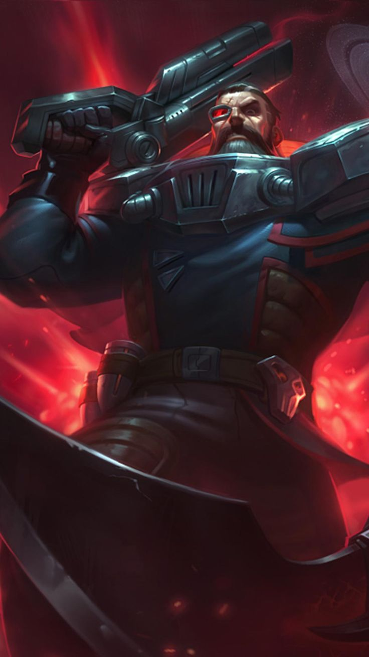 dreadnova gangplank skin android iphone wallpaper mobile