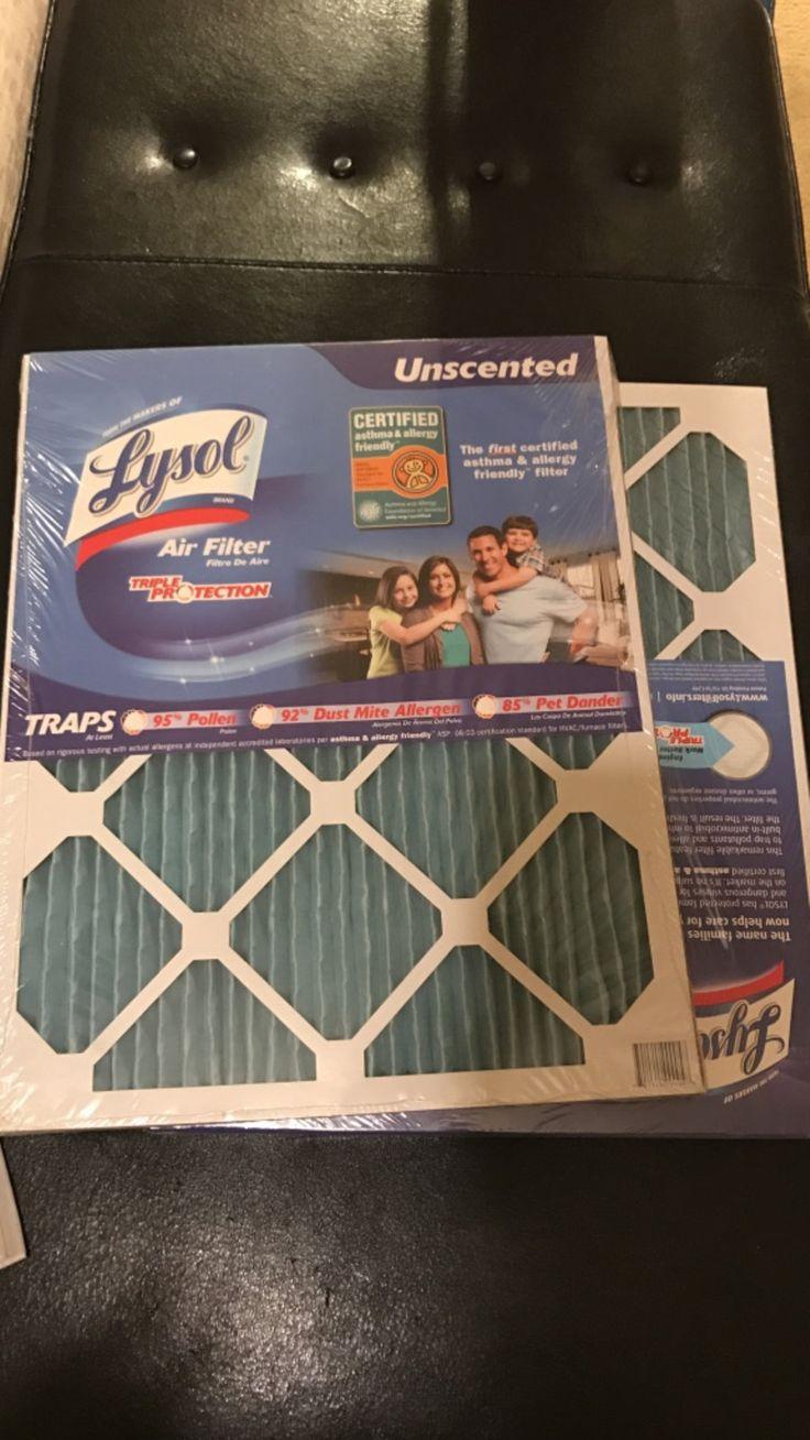 letgo Lysol air filter 16x20x1 in Lorton, VA Pet
