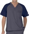 UA Best Buy Scrubs Men's Color Block Scrub Top