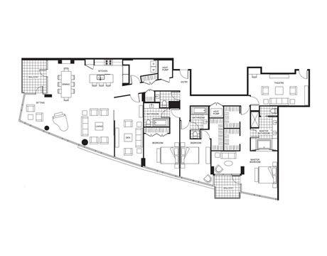 1000 ideas about condo floor plans on pinterest luxury for Luxury condominium floor plans