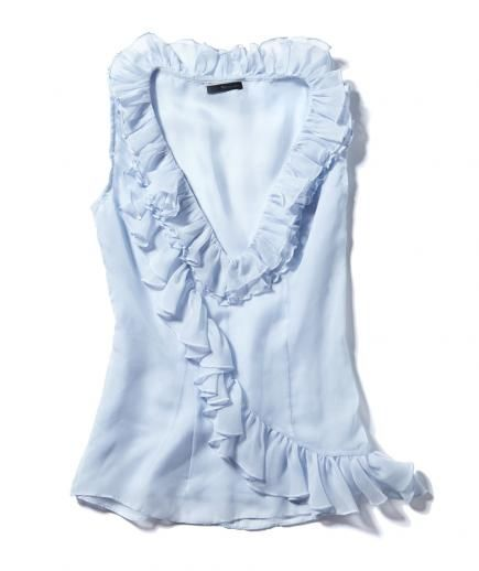 Ruffles: Try a ruffled blouse #springtrends #ruffles