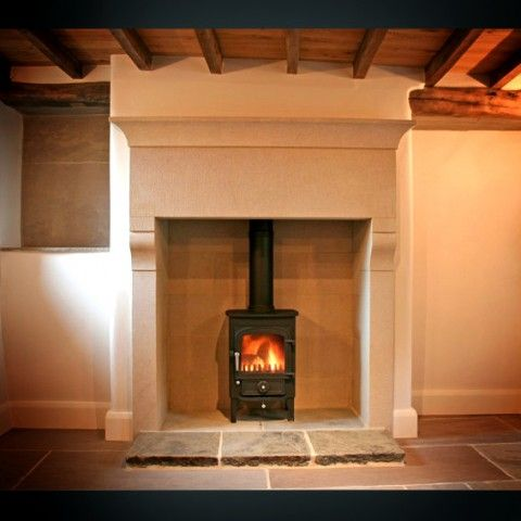 Fireplace Surrounds in Sandstone & Granite from Rock & Stone Works