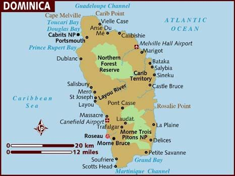 Best REPÚBLICA DOMINICANA DOMINICA Images On Pinterest - Physical map of dominica