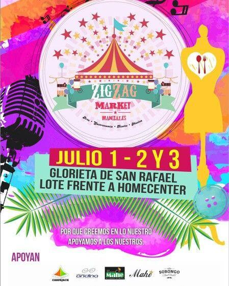 Apoyemos lo nuestro @aguazul_accesorios en #zigzagmarket #manizales #pereira este 1-2-3 de julio glorieta san Rafael al frente de homcenter Manizales @camila.medina.duque
