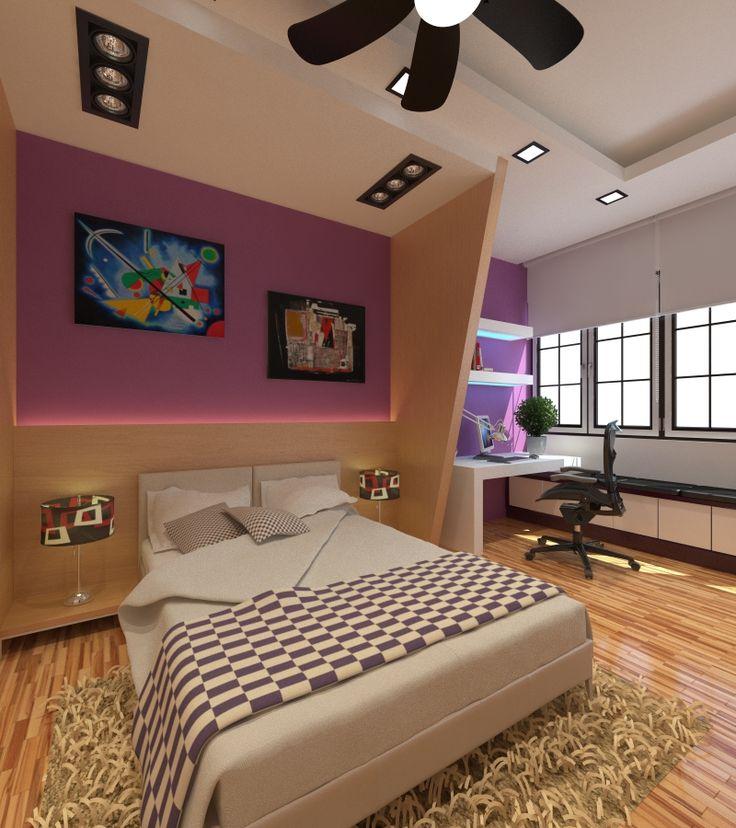 Modern Bedroom Interior Designer