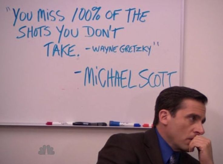 my fav thing is hockey (wayne gretzky) and your fav the office!