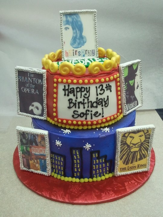 1000 Images About Broadway Themed Cake On Pinterest