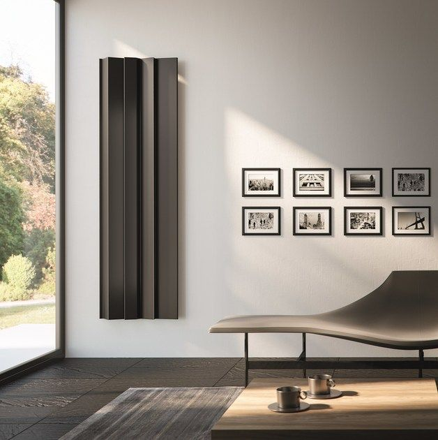 Vertical Panel Wall Mounted Radiator Android Design Collection By Antrax Design Daniel Libeskind Daniel Libeskind Wandverkleidung Design Heizkorper