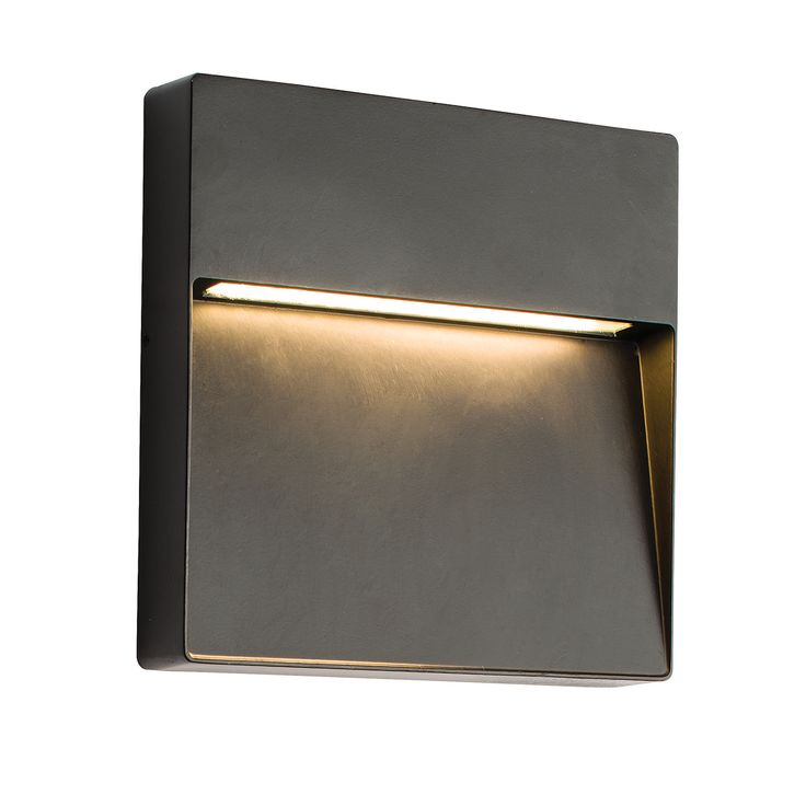Saxby-Tuscana-9W-Square-Die-Cast-Aluminium-IP44-Indirect-LED-Guide-Wall-Light