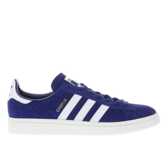 womens blue adidas campus trainers | schuh