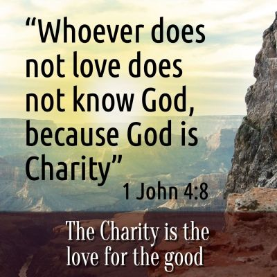 God is Charity Biblical Spanish with http ...