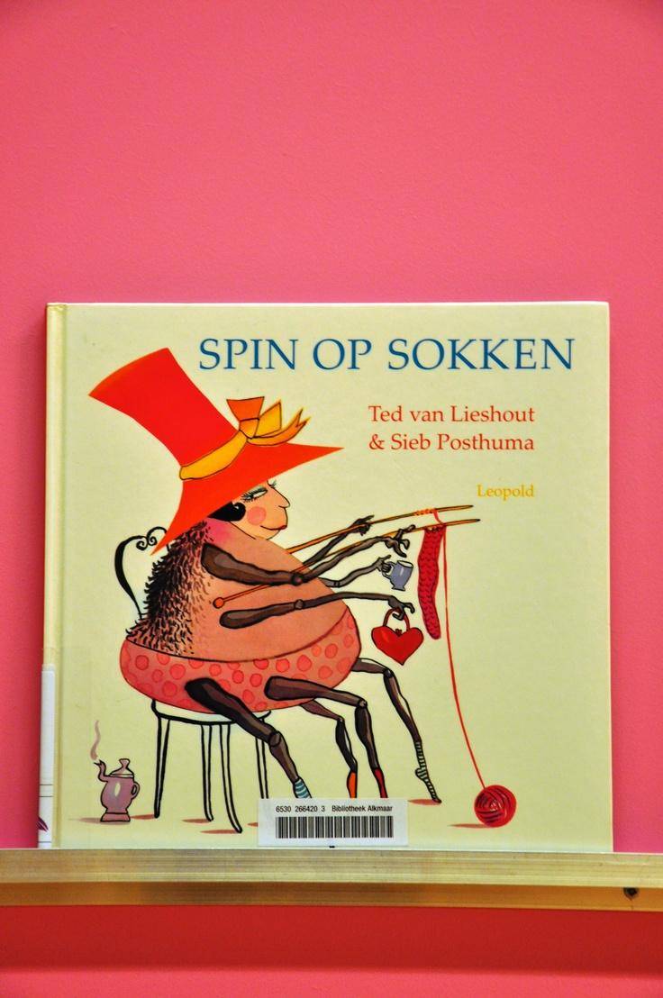 Ted van Lieshout Spin op sokken