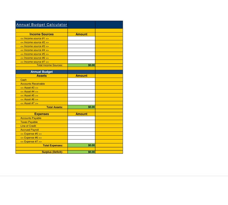 76 best images about financial estimate spreadsheet
