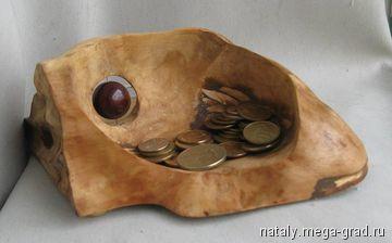 подставка для ключей и монет - изделия из дерева, дизайнерская работа в подарок. МегаГрад - online выставка-продажа авторской ручной работы