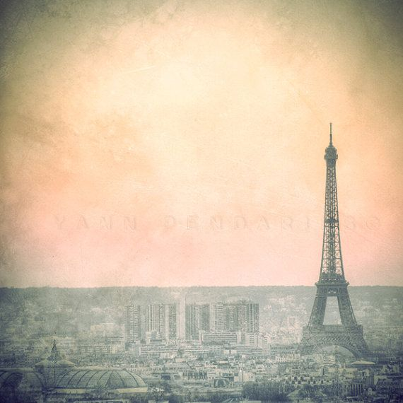 Paris Eiffel Tower decor Lanscape photography by PhotographyDream, €13.00
