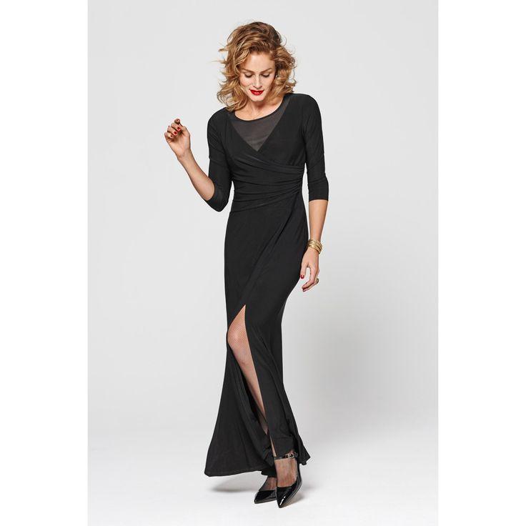 Steps jurk zwart