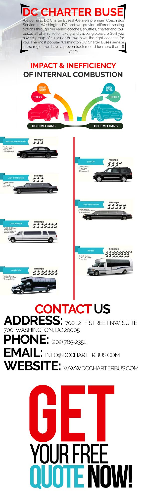 Car Rental Quotes 36 Best Dc Charter Bus Images On Pinterest  Washington Dc